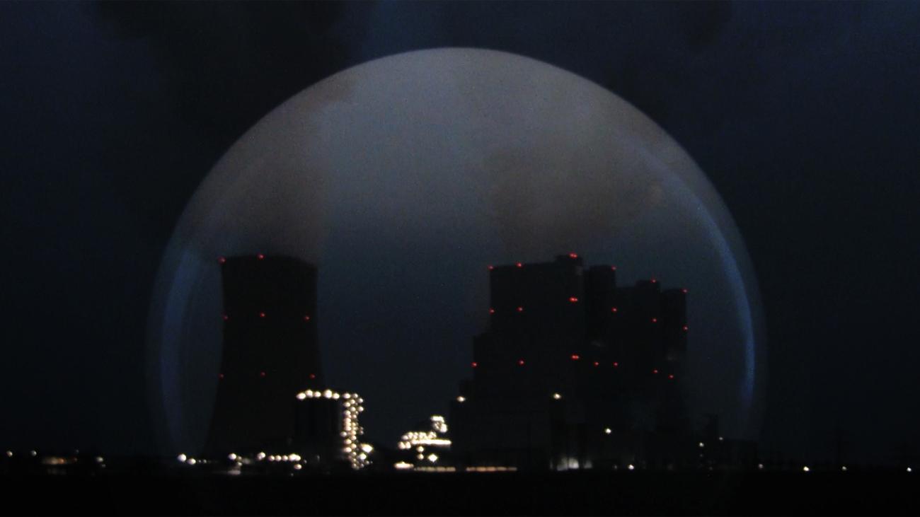 nb Kraftwerk nachts